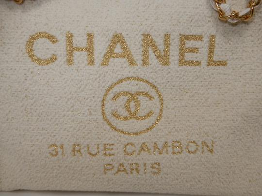 Chanel Tote in Ivory Image 9