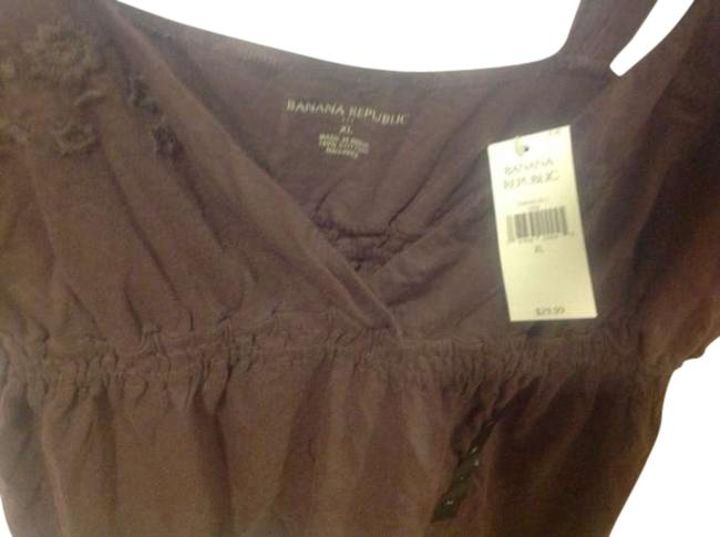Preload https://img-static.tradesy.com/item/254749/banana-republic-brown-empire-waist-summer-fun-blouse-tank-topcami-size-16-xl-plus-0x-0-0-650-650.jpg
