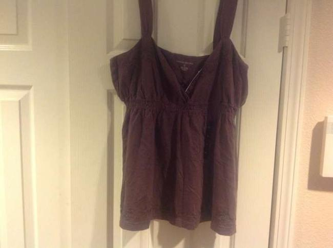 Banana Republic Empire Waist Blouse New With Tags Top Brown