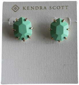 Kendra Scott Kendra Scott Mint Green Morgan Stud Earrings