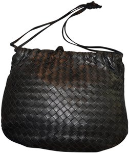Bottega Veneta Leather Vintage Hobo Shoulder Bag
