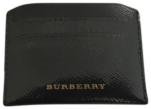 Burberry Textured Patent Leather Card Holder