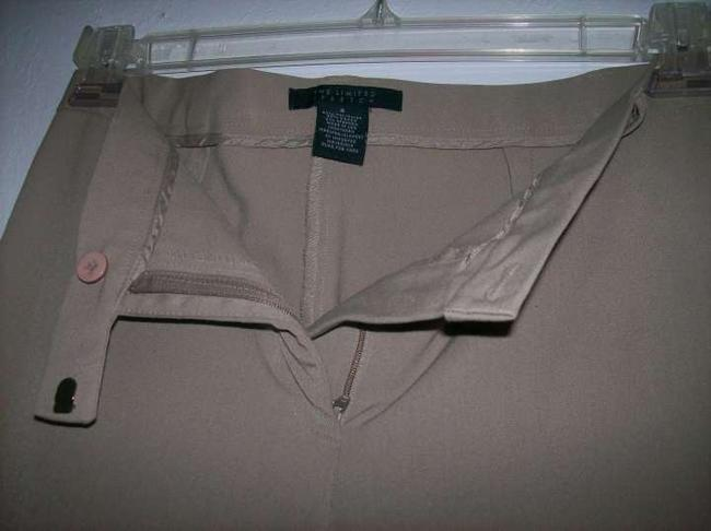 The Limited Straight Pants Sand Beige