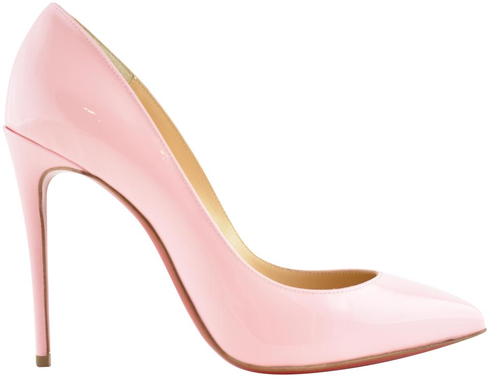11d8f8af617 Christian Louboutin Pink Pigalle Follies 100 Eglantine Patent Stiletto  Classic Heel Pumps Size EU 38 (Approx. US 8) Regular (M, B)