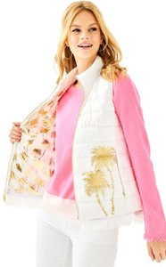 Lilly Pulitzer Puffer Down Palm Vest
