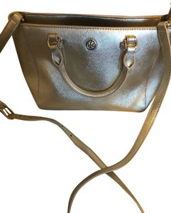 Tory Burch Satchel in Soft Gold