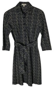 Burberry Equestrian Briddles Shirt Dress