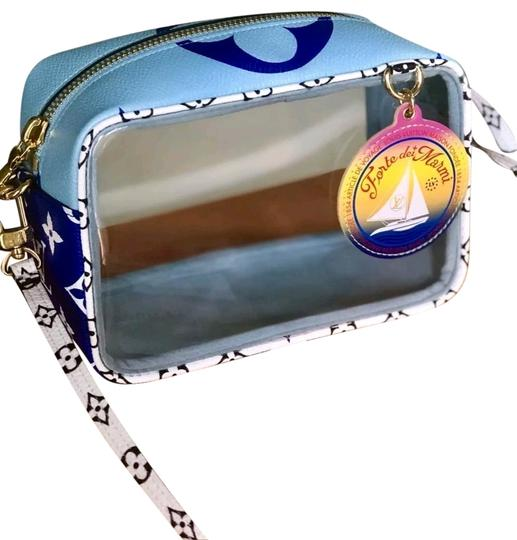 Preload https://img-static.tradesy.com/item/25476092/louis-vuitton-shoulder-pochette-limited-edition-giant-summer-blue-and-white-monogram-multicolore-can-0-2-540-540.jpg