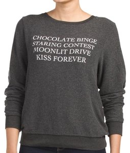 Wildfox Fuzzy Lounge Loungewear Jumper Sweater