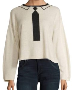 Wildfox Tie Necktie Sweater