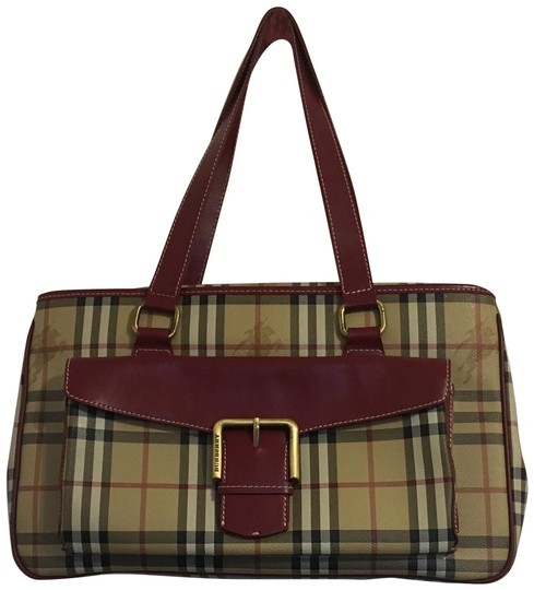 Preload https://img-static.tradesy.com/item/25476571/burberry-london-haymarket-check-maroon-and-cream-coated-canvas-cowhide-leather-shoulder-bag-0-3-540-540.jpg