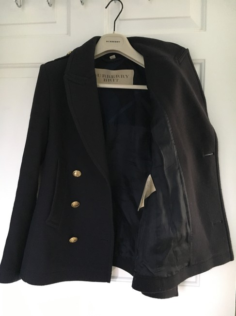 Burberry Cashmere Wool Pea Coat Image 1