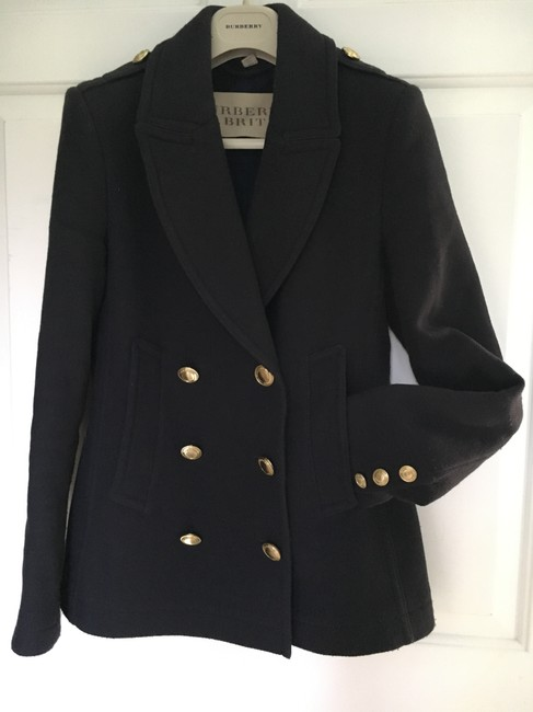 Burberry Cashmere Wool Pea Coat Image 2