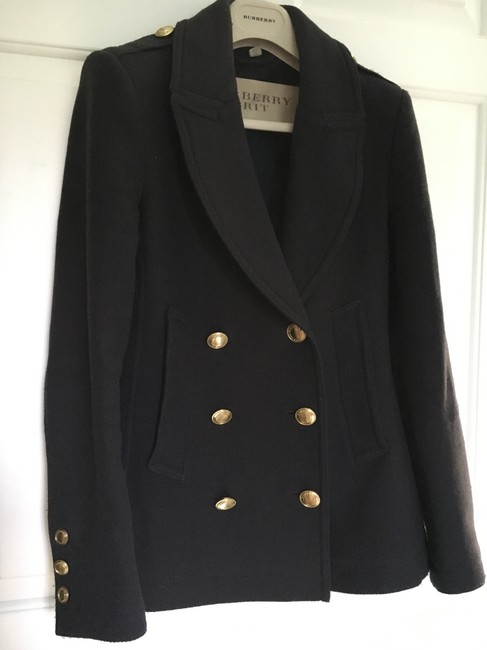 Burberry Cashmere Wool Pea Coat Image 4