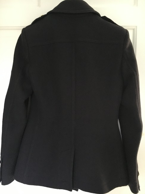 Burberry Cashmere Wool Pea Coat Image 7