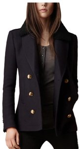 Burberry Cashmere Wool Pea Coat