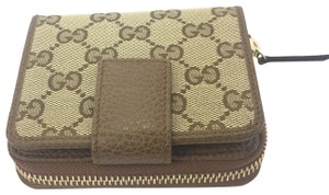 Gucci Gucci GG Canvas Zip Around French Wallet #346056
