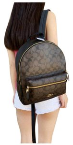 Coach Womens Signature Bags Backpack
