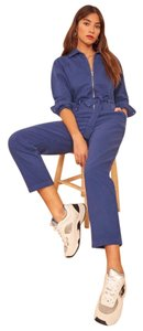 Reformation Relaxed Pants Vintage Blue