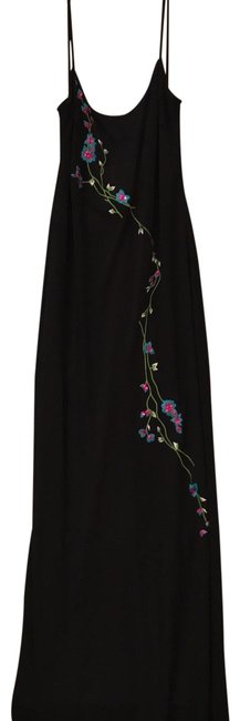 Item - Black Long Night Out Dress Size 6 (S)