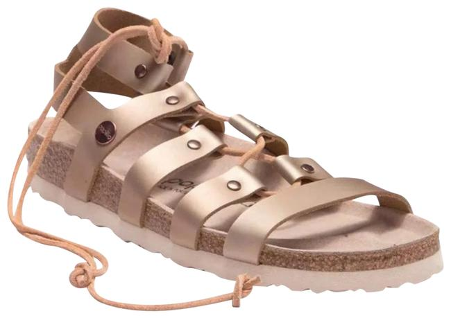 Item - Rose Gold Cleo Gladiator Sandals Size EU 38 (Approx. US 8) Narrow (Aa, N)