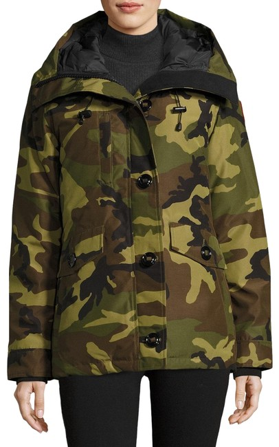 Item - Multicolor Rideau Hooded Coat Size 4 (S)