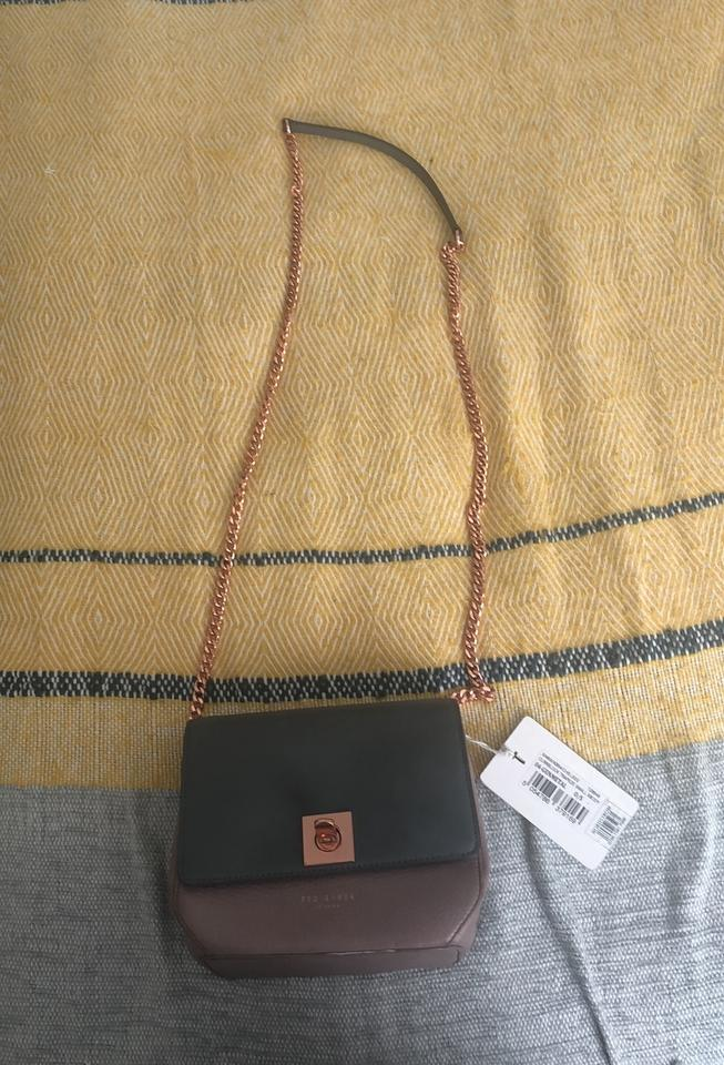 dc83d22a75d Ted Baker Grey and Lavender Cross Body Bag - Tradesy