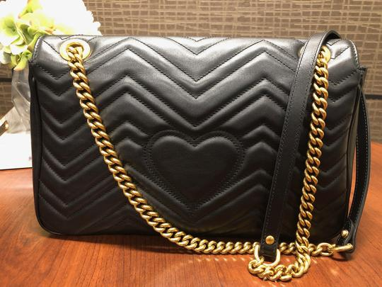 Gucci Trendy Classic Leather Luxury Shoulder Bag Image 1