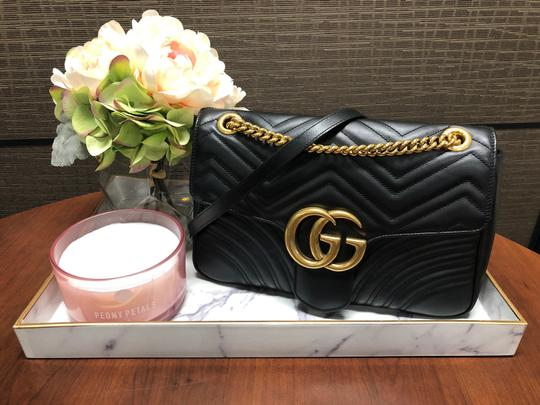 Gucci Trendy Classic Leather Luxury Shoulder Bag Image 11