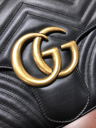 Gucci Trendy Classic Leather Luxury Shoulder Bag Image 2