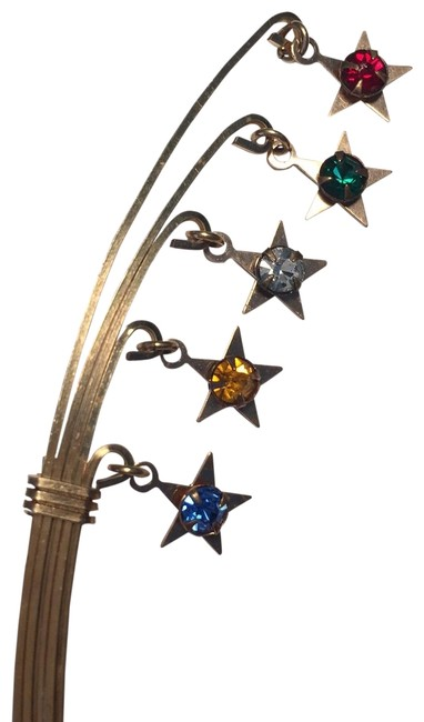 Item - Multi Colored Shooting Star Pin