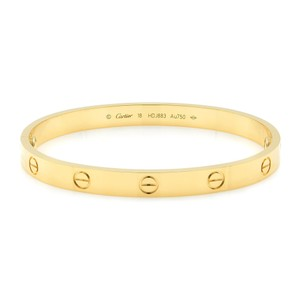 Cartier Love Bangle Bracelet Size 18