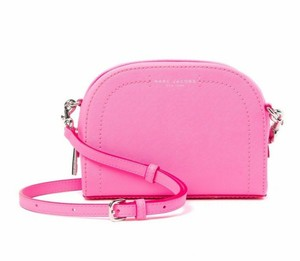 Marc Jacobs Playback Silver Hardware Compact Bright Cross Body Bag