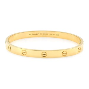 d4cc76213d75b Yellow Cartier Bracelets - Up to 90% off at Tradesy
