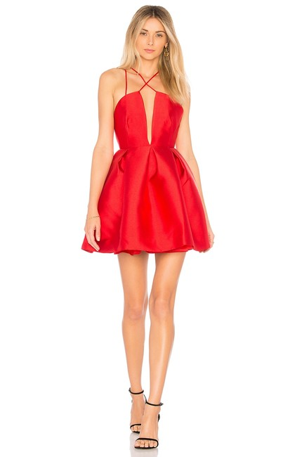 Item - Red Siena Short Cocktail Dress Size 4 (S)
