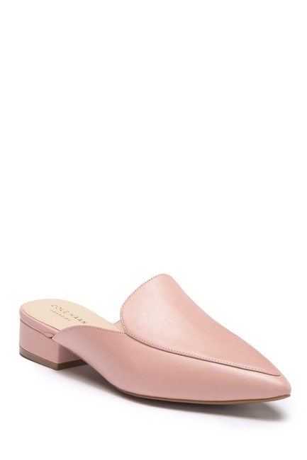 Item - Misty Rose Piper Mules/Slides Size US 7 Regular (M, B)