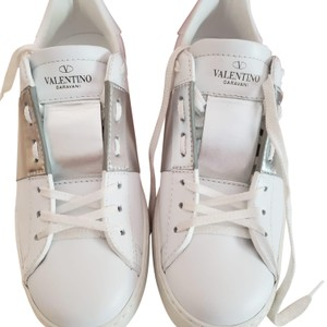 Valentino White and silver Athletic
