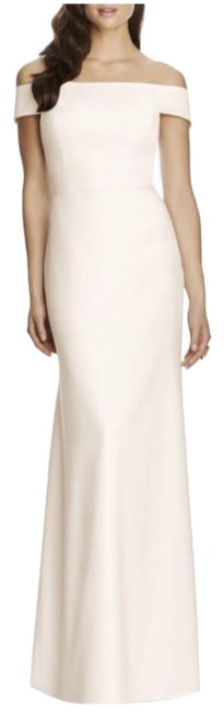Item - White Collection Off The Shoulder Crepe Long Formal Dress Size 2 (XS)