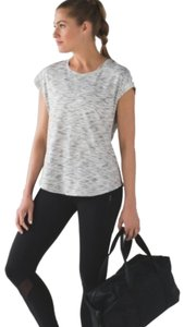 Lululemon Lululemon Tiger Space Dye Black White Shirt