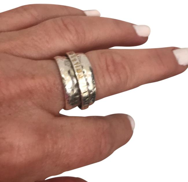 Item - Sterling Silver/Gold Silver/Gold Ring