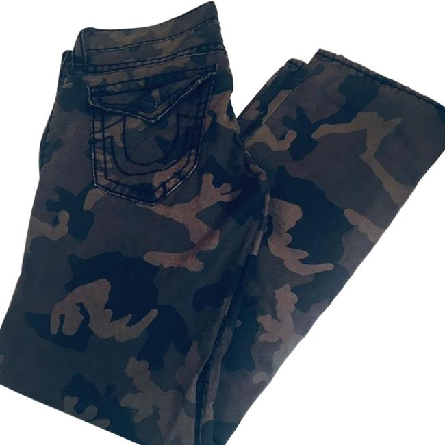 Item - Green Men's Ricky Camo Straight Leg Jeans Size OS (one size)