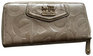 Coach Coach leather embossed wallet