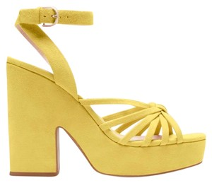 Kate Spade canary yellow Sandals