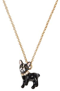 Kate Spade Ma Cherie Antoine Dog Mini Pendant Necklace
