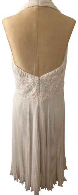 Item - Cream Rn 84849 Mid-length Formal Dress Size 12 (L)
