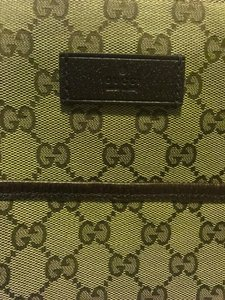 Gucci Brown GG pattern Messenger Bag