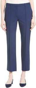 Theory Wool Crop Date Night Hollywood Holiday Capri/Cropped Pants SEA BLUE