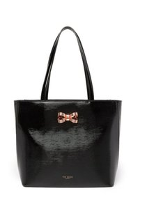Ted Baker Adalinn Micro Bow Satchel Tote in black
