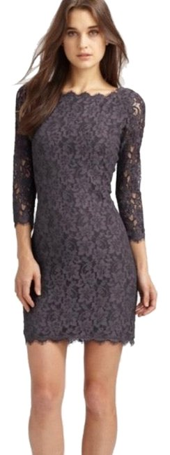 Preload https://img-static.tradesy.com/item/25482326/diane-von-furstenberg-dark-grey-zarita-mid-length-cocktail-dress-size-2-xs-0-1-650-650.jpg