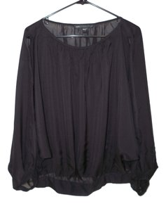 Marc by Marc Jacobs Silk Oversized Sheer Dolman Top